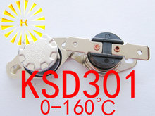 цена на KSD301 30 degrees C  10A 250V KSD-301 Normally Closed Temperature Switch Thermostat x 10PCS FREE SHIPPING