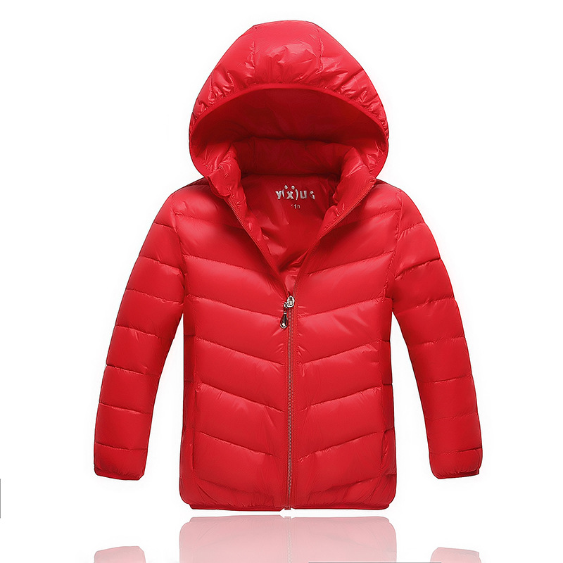 2016 New Korean Children Jacket Hooded Jacket for Boys and Girls Wear Down Jacket Boys Girls Outwear