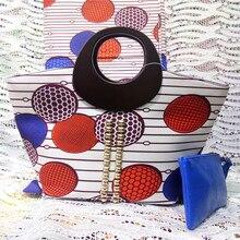 NN! 2017 модные дизайнерские Африканский Воск сумочки в африканском стиле печати обувь и кошелек/Африканские Обувь с сумки/африканские ткани! J70930