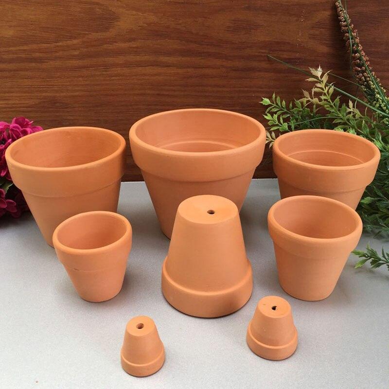 Superior Where To Buy Ceramic Planters Part - 14: 100pcs/lot Mini Ceramic Flower Pot D5.5XH5CM Clay Succulent Planters Garden  Meat Plant