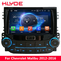 KLYDE Octa Core 4G WIFI Android 8.0 7.1 4GB RAM 32GB ROM Car DVD Player Stereo GPS For Chevrolet Malibu 2012 2013 2014 2015 2016