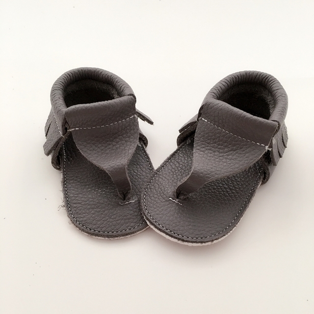 Infant leather mocs for babies special baby shower gifts