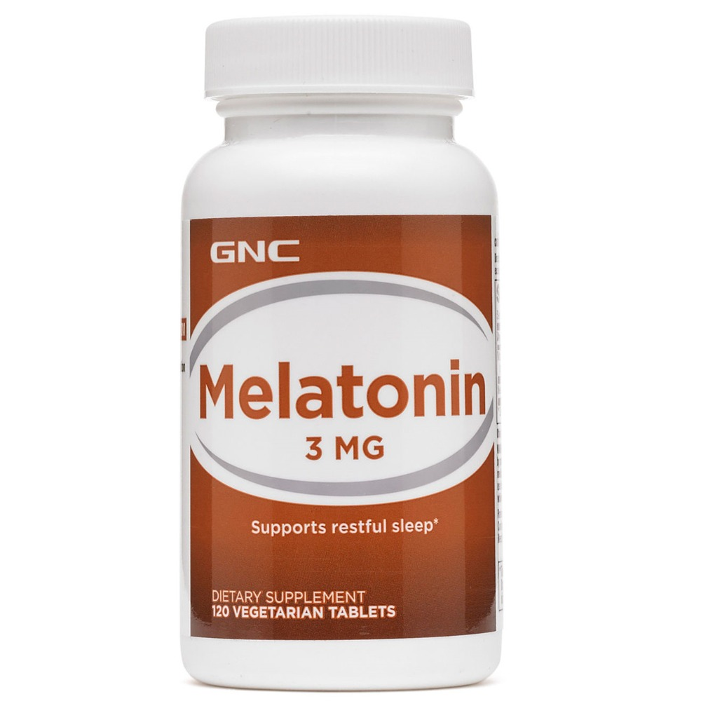 Free Shipping Melatonin 3 Mg Supports Restful Sleep 120 Pcs