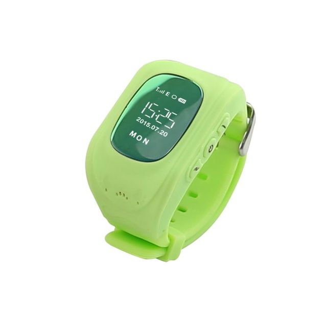 2015 Kid Safe GPS Q50 smart Watch Wristwatch SOS Call Location Finder Locator Tracker for Kid Child Anti Lost Monitor Baby Son