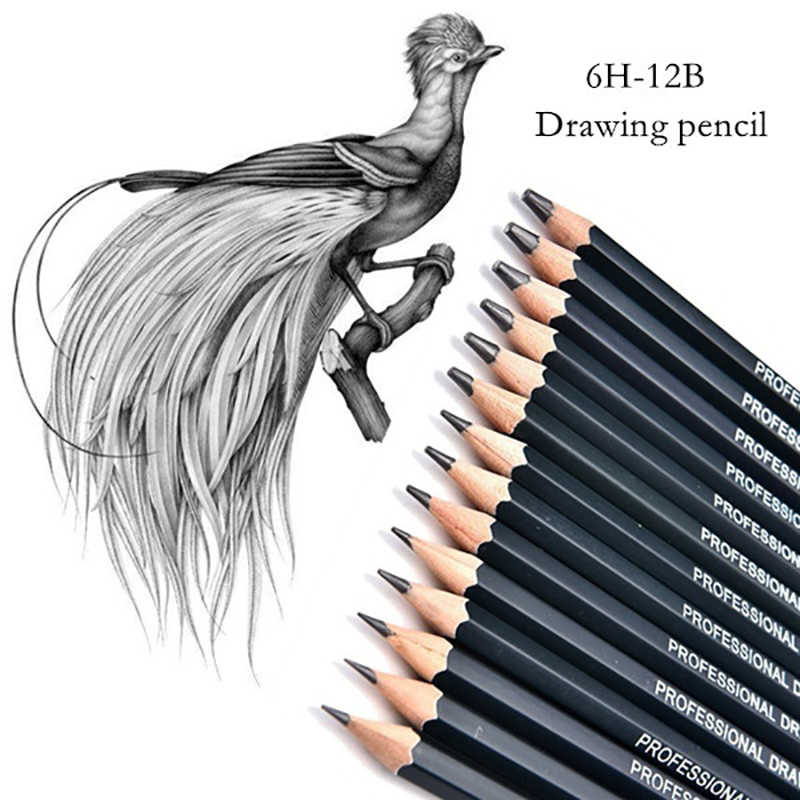14 Pcs Lot Graphite Pencils Beautiful Painting Tool 6h 12b Professinal Set Of 14 Sketch Art Drawing Pencil Sketching Pencils Graphite Pencil Graphite Pencil Setpencil Graphite Aliexpress