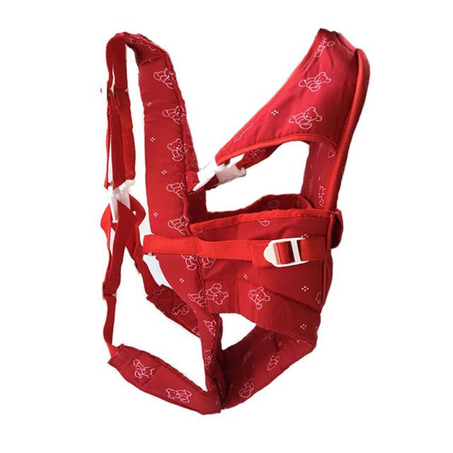 2-12 Meses Respirável Multifuncional Frente Virada Baby mochila Infantil Toddle Crianças Mochila Bolsa Envoltório Estilingue Do Bebê Confortável