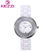 KEZZI Новый Женщины Люксовый Бренд Часы Женщины Одеваются Часы Простота Классический Наручные Часы Женщины Водонепроницаемый Повседневная Часы Montre Femme