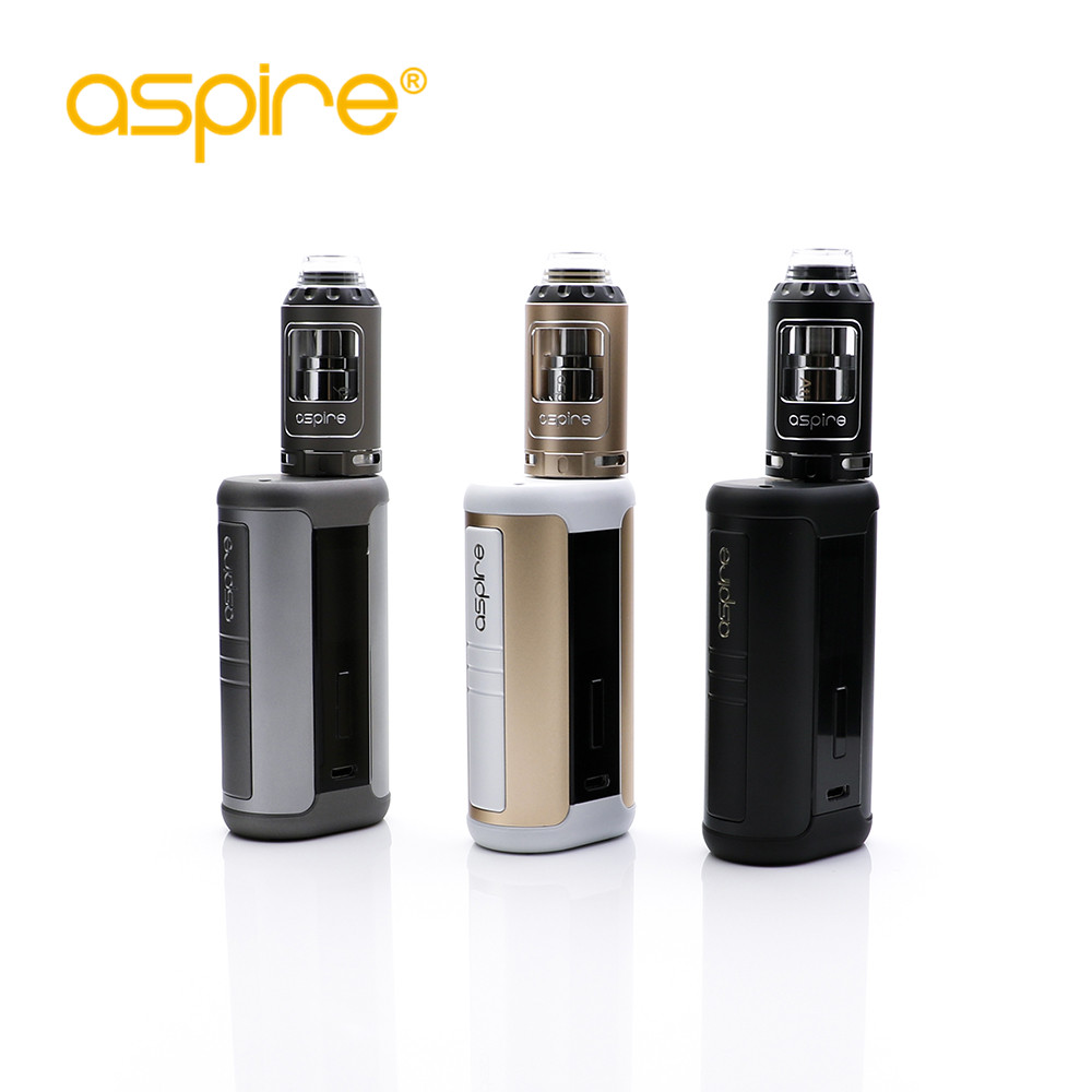 Original Aspire Speeder 200 W Kit Vape boîte Mod Kit double 18650 batterie 4 ml réservoir atomiseur 510 fil Kit de Cigarette électronique