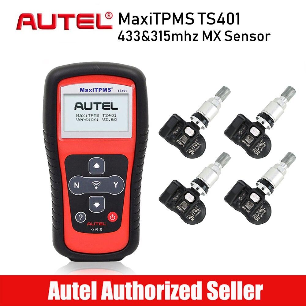 AUTEL MaxiTPMS TS401 TPMS инструмент шин Давление Сенсор активатор инструменты программирования датчики давления в шинах TPMS активации инструменты ...