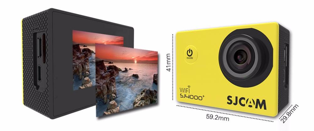 original sjcam sj4000+ plus wifi 2k action camera 7