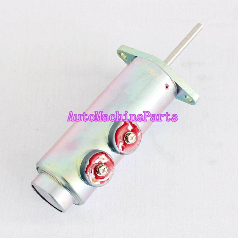 Solenoid GP Fuel shutoff Valve for 814B 814F 824G Wheel Dozer 3924450 2001es 12 fuel shutdown solenoid valve for cummins hitachi
