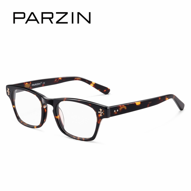 PARZIN Fashion Design Myopia Glasses Frames With Clear Lens High ...