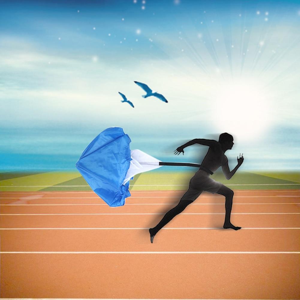 Adjustable Drag Parachute Speed Training Running Chute Outdoor Sport Running Speed Drills Resistance Parachute Umbrella Tool