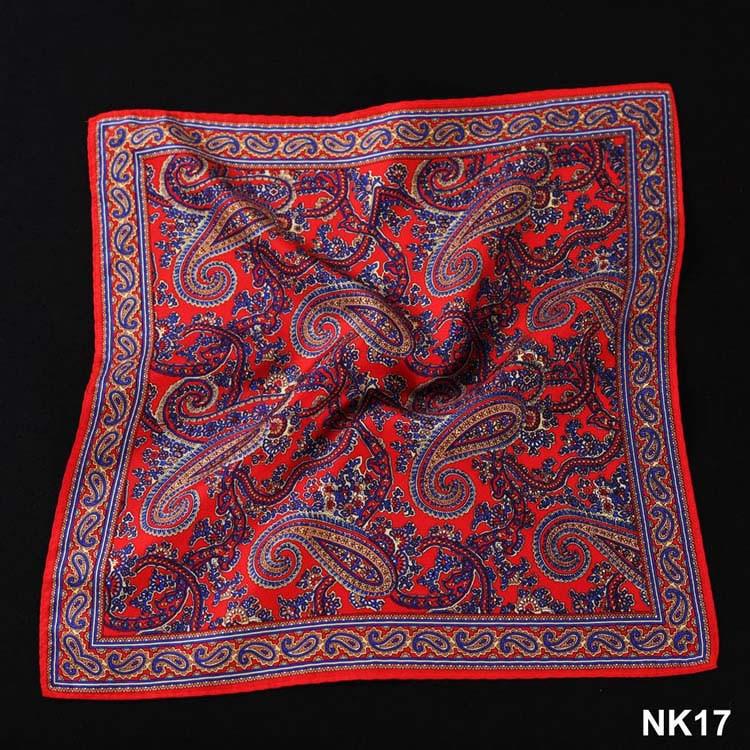 NK17 HN10R Red Navy Blue Paisley (2)