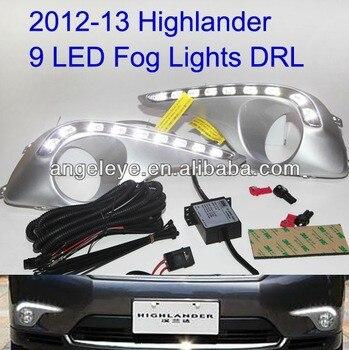 Highlander Kluger 9pcs LED DRL Daytime Running Light 2011-2013 Year V1