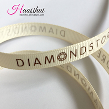 1/2(13mm) wholesale cheap grosgrain ribbon Personalized Favors Printed Ribbon for Party Wedding Baby Shower Favor 100yards/lot