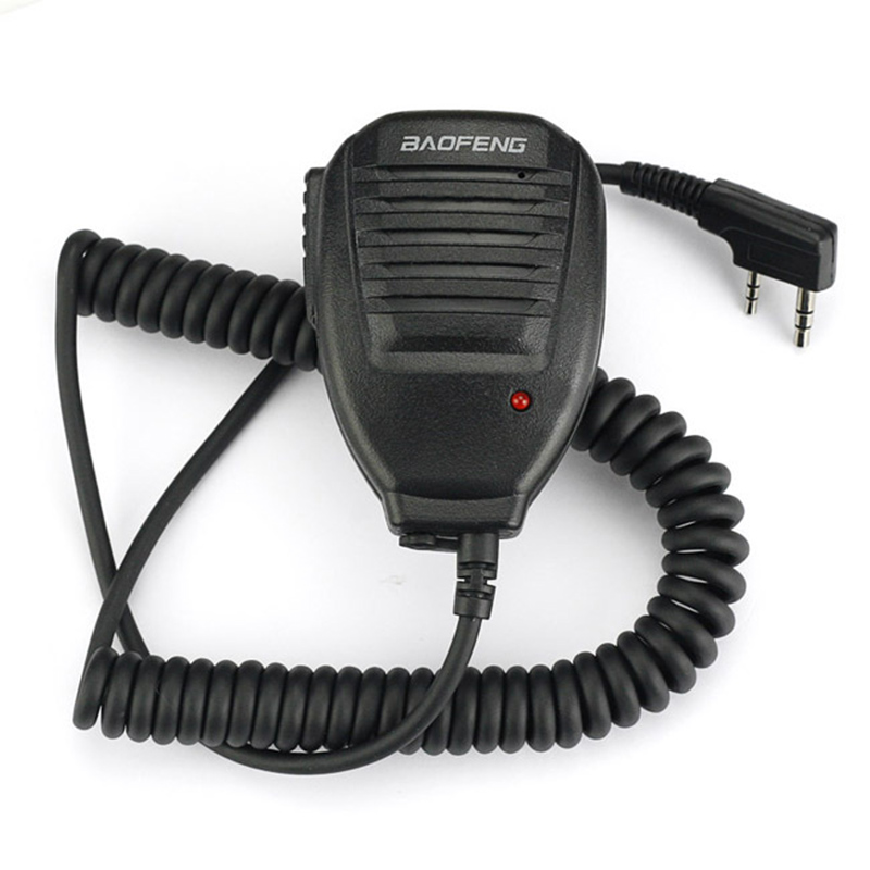 Baofeng Haut-Parleur Microphone pour Baofeng talkie walkie UV-5R UV-5RA/B/C/D/E UV-3RPlus BF-888S UV-82 Dual Band Ham Two-way Radio