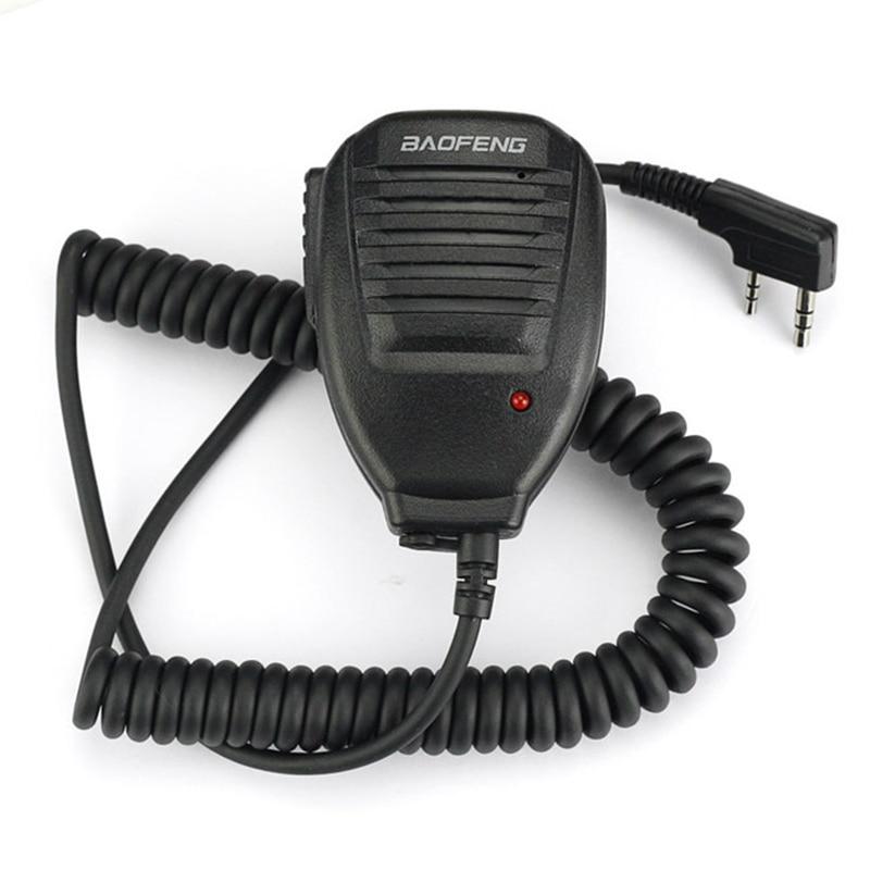 Baofeng Speaker Microfono per Baofeng walkie talkie UV-5R UV-5RA/B/C/D/E UV-3RPlus BF-UV-Dual Band Ham Radio A due vie