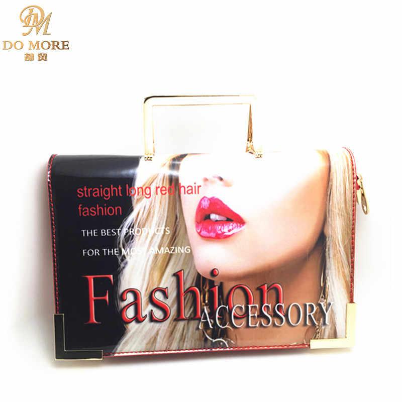 1a4a8849e2ae Fashion designer women handbags magazine vintage luxury woman flap bag  famous brands PU leather messenger bags