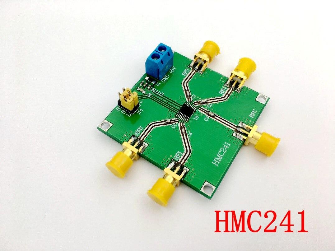 Ev Aletleri'ten Klima Parçaları'de HMC241 DC 3.5 GHz RF Tek Kutuplu Dört Atmak Anahtarı Bant Anahtarlama RF Anahtarı Kablosuz title=