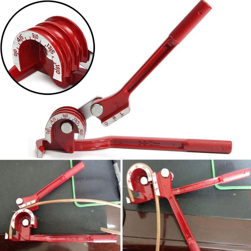 3 In 1 Tube 180 Degree Tubing Pipe Bender Bending Durable Copper Steel Fuel Brake Line Tool 27*6.5cm Hand Tool