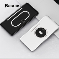 Baseus Power Bank 10000mAh USB Type C PD Fast Phone Charger Powerbank Ultra Thin External Battery Pack For iPhone Samsung Xiaomi