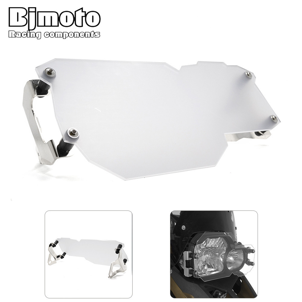 For BMW F800GS ADV F700GS F650GS Twin 2008-2015 Motorcycle motorbike Headlight lamp Lens Guard Protector for bmw r1200gs adv f800gs adv f700gs new motorcycle adjustable handlebar riser bar clamp extend adapter