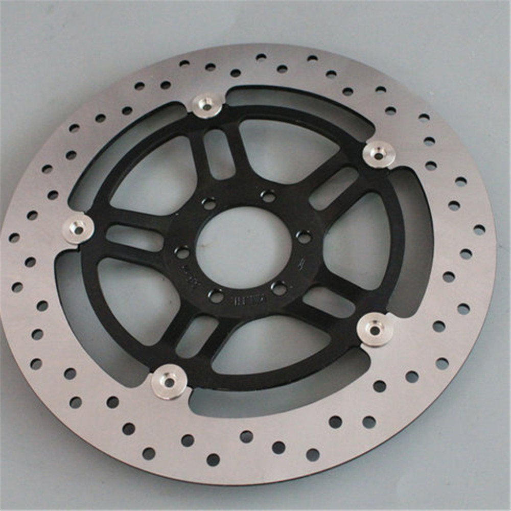 1 Pcs Motorcycle Front Floating Brake Disc Rotor For Honda Hornet 250 CB250 1996 - 2001 VTR250 1998 - 2007 VTR CB 250 blue motorcycle brake clutch lever for honda cb 1 cb400 cb400 sf 1992 1998 vtec 2002 2013 cbr vtr nsr hornet 250 cbr400
