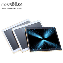 "Newkita 9,6 ""Octa-core Tablet Pc In 3G 1280*800 IPS 4 GB + 32 GB GPS Bluetooth FM 2MP/5MP Android 7.0 Phablet Flip Fall Freies"