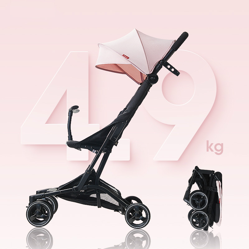 Baby Stroller Light Folding Umbrella Carriage Can Sit Can Lie Ultra-light Portable Infant Trolley On The Airplane For 0-3T Baby baby stroller 5kg ultra light portable on the plane can sit lie simple mini folding baby pocket umbrella summer