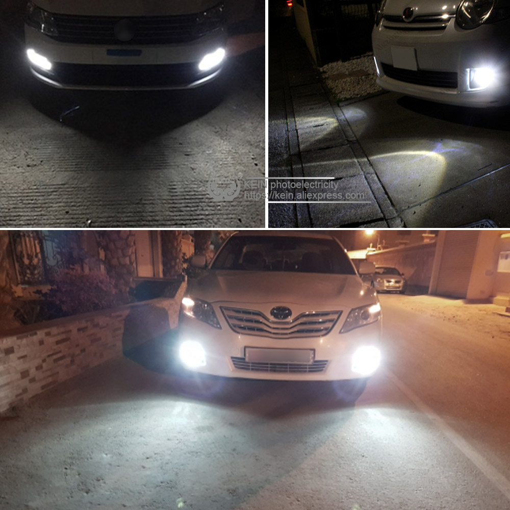 Image 5 - KEIN 2PCS H1 LED Car Bulbs  Auto LED Fog Lamp 4014 30SMD DRL Daytime Running External Lights Day Driving Vehicle White 6000K 12V-in Car Fog Lamp from Automobiles & Motorcycles
