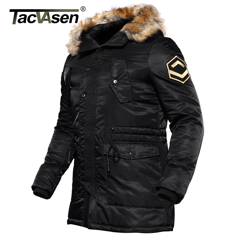 TACVASEN US Army Winter Parkas Military Tactical Jacket Men Cotton Windbreaker Male Thick Thermal Jacket Coat TD-DSPD-004 us army tactical military winter coat men outdoor thermal cotton airborne jacket for sports airsoft hunting shooting edc clothes
