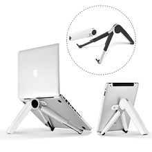8 Gear angle adjustable laptop Stand Portable foldable laptop desk for 7-15 inch Notebook/7-12 inch Tablet/Mobile/Magazine