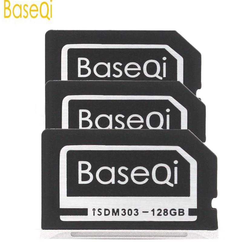 BASEQI Aluminum 128GB Internal Storage Expansion SD Card For MacBook Pro Retina 13 transcend jetdrive lite 330 storage expansion memory sd card for macbook pro retina 13 64gb