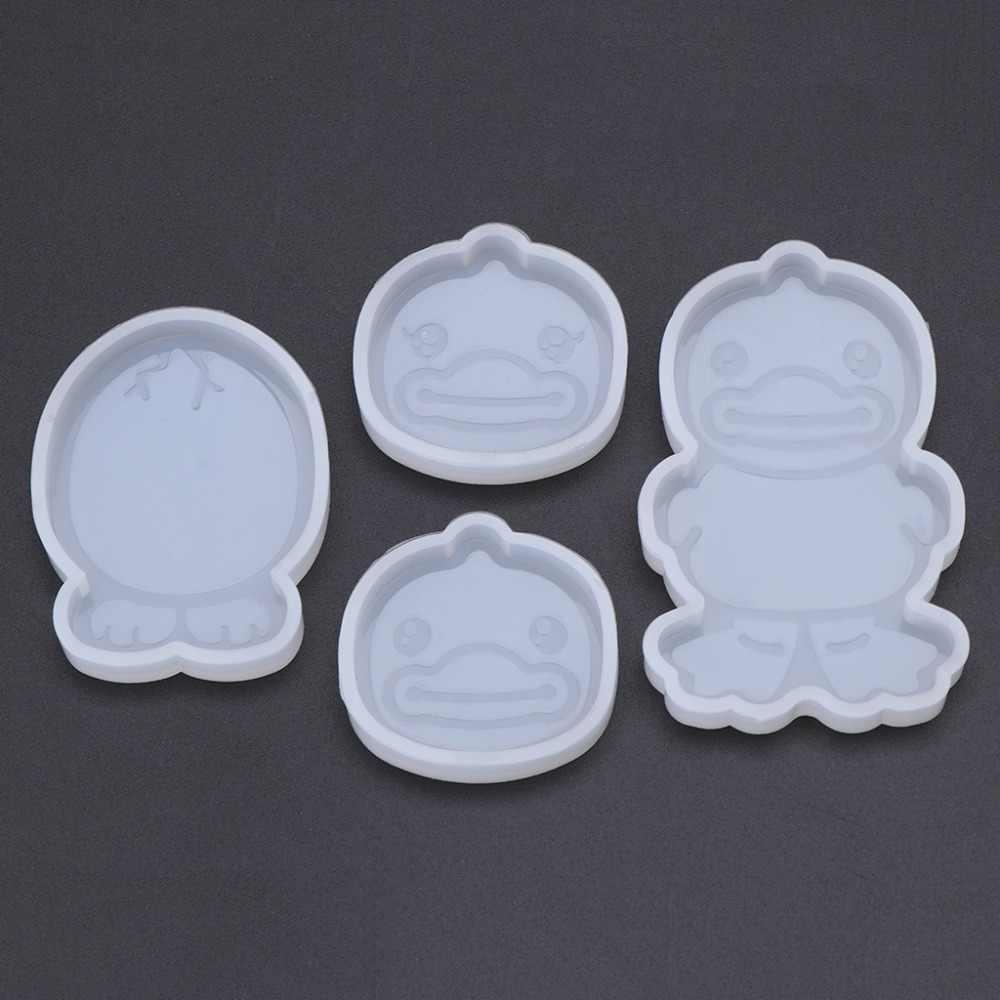 Силиконовые Формы Большой утиный клюв DIY ювелирные украшения эпоксидной смолы животных милые подарки ручной работы игрушки зеркальный орнамент