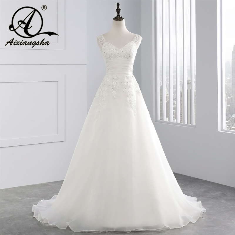 Vestido Noiva Sexy Lace Simple Cheap Wedding Dresses Made In China A Line Wedding Gown Robe De Mariee Vestido De Casamento