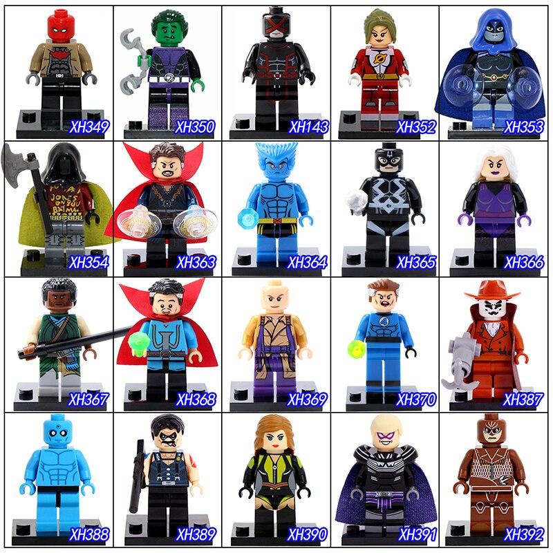 DR.TONG Single Sale Series 4 Superheros Building Blocks Childrens Toys Doctor Strange Mister Fantastic