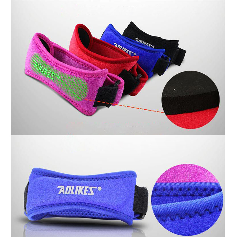 Adjustable Sports Leg Elbow & Knee Pads Support Brace Protector Pads Sleeve Cap Patella Guard Sport Protection knee warm