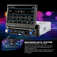 7 Inch 2Din Car Bluetooth MP5 Player HD Touch Screen Bluetooth MP5 Player Car MP5 Player