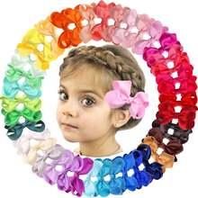 40 цветов/комплект зажимы для волос «крокодил»