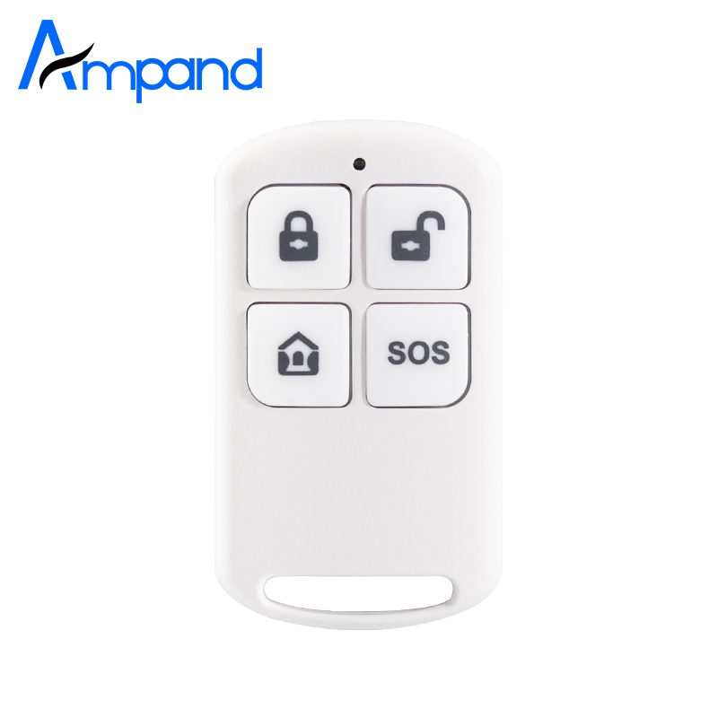 Ampand 433MHZ Wireless Remote Control for PG103 home alarm Security WIFI GSM system Accessory Key 1pcs Free Shipping