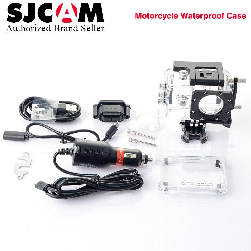 SJCAM funda impermeable para SJ5000/SJ4000 Series Cam shell de carga para sj cam SJ5000X Elite acción accesorios de cámara
