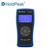 HoldPeak HP 5800D PM2.5 детектор PM10 мониторинга качества воздуха в Газоанализаторы высокая точность лазерный тестер для окружающей среды