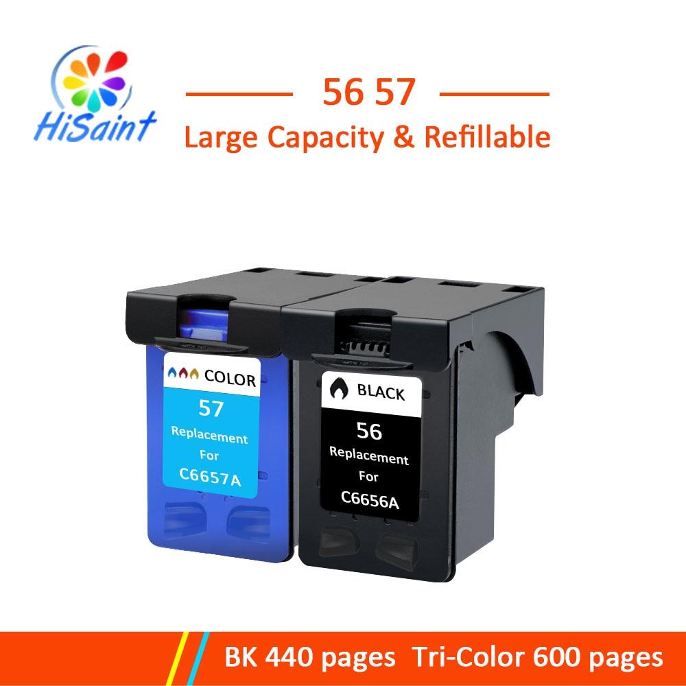 HP 56 57 इंक कारतूस के लिए hp56 57 Photosmart 7150 7155 7550 7660 7760 7960 इंक जेट प्रिंटर डायरेक्ट सेलिंग हॉट सेल