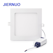 3W~25W LED Panel Light Round Square Recessed panel Light Ceiling lamps led light Downlight Lamps Warm/Cold White AC85-265V