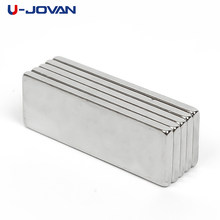 U-JOVAN Hot Koop 10pcs Super Sterke Craft Magneten Cuboid Block Neodymium Magneet Zeldzame Aarde N35 30x10 x 2 mm(China)