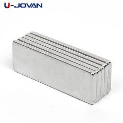 U-JOVAN Лидер продаж 10 шт. супер сильные магниты на холодильник кубовидный Блок Неодимовый магнит редкоземельный N35 30x10x2 мм