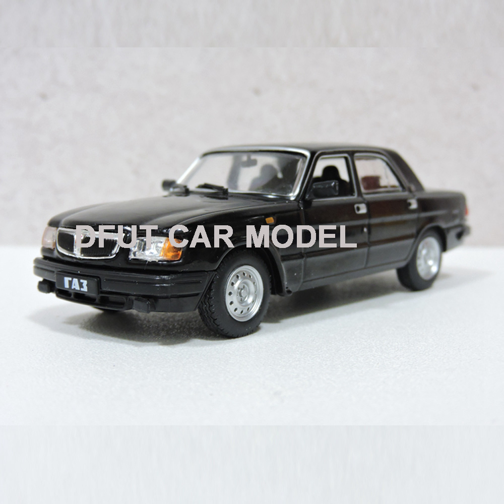 Diecast 1:43 Alloy Toy Vehicles Volga Gaz 3110 Sports Car Model Of Children's Toy Cars Original Authorized Authentic Kids Toys