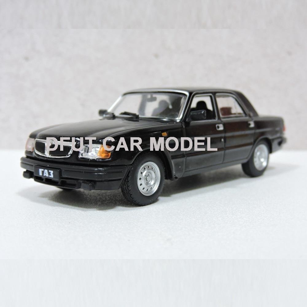 Diecast 1:43 Alloy Toy Vehicles Volga Gaz 3110 Sports Car Model Of Children's Toy Cars Original Authorized Authentic Kids Toys