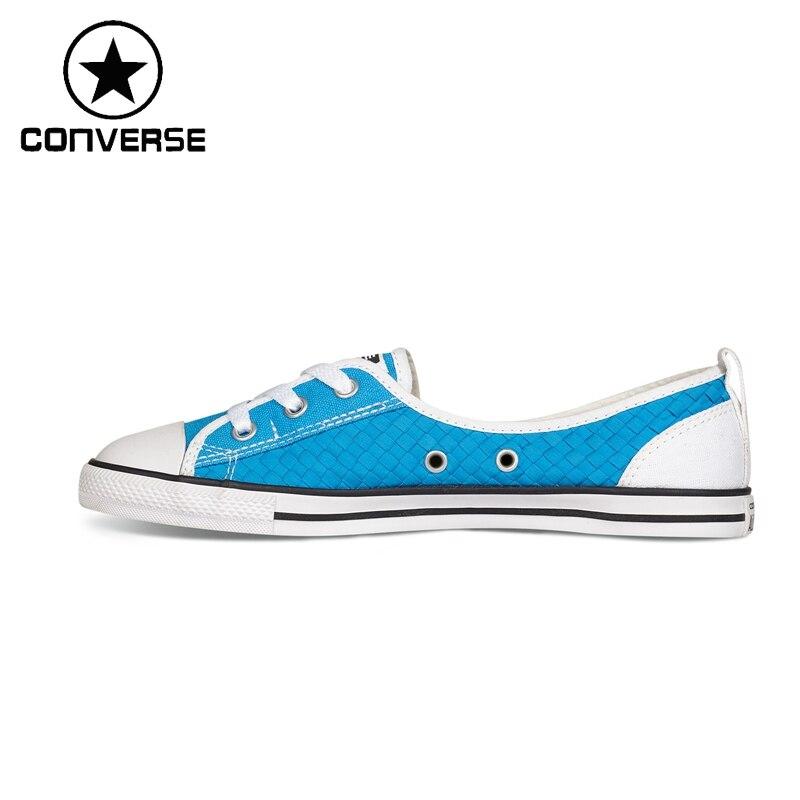 Prix pour Original Nouvelle Arrivée Converse ALL STAR Femmes de Planche À Roulettes Chaussures Toile Sneakers
